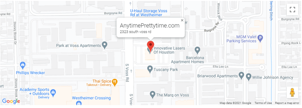 Anytime Pretty Time Map